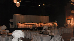 White & Brown Reception