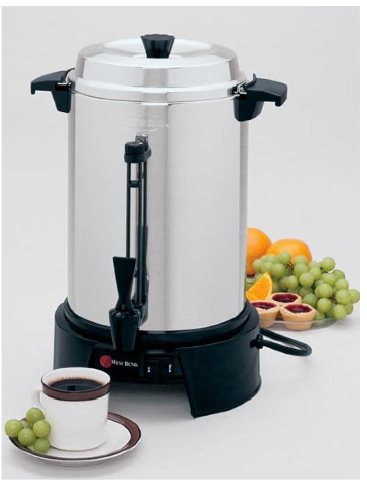 coffee urn 36 cup