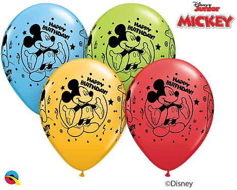 """Happy Birthday"" Mickey Mouse ~ 11 Inch"