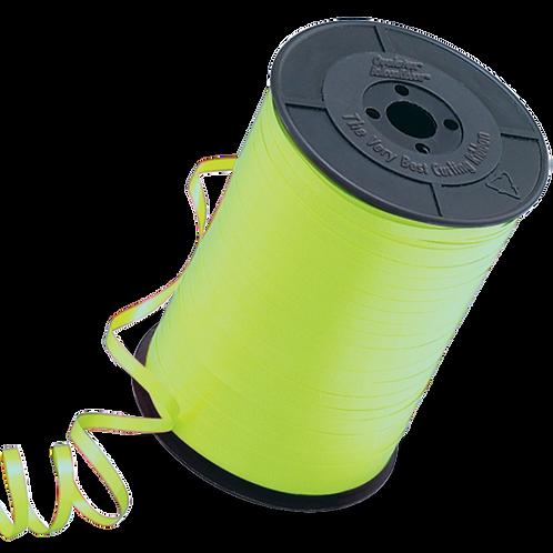 Lime Green Balloon Ribbon