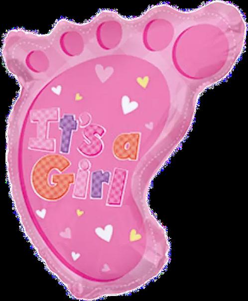 """""""IAG"""" Pink Foot ~ 22 Inch"""