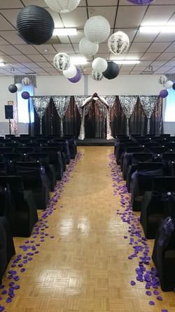 Black & Purple Ceremony