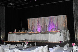 Silver & Purple Reception