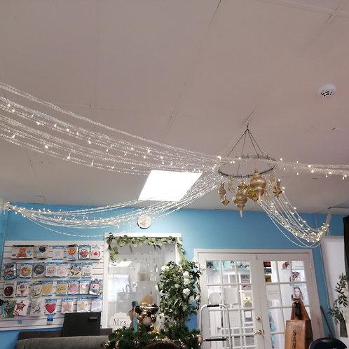 Crystal Ceiling Hoop