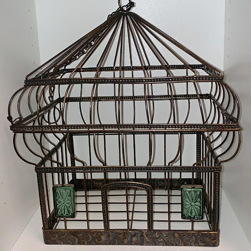 Brown Birdcage