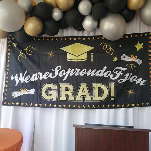 Graduation ~ Canvas Sign