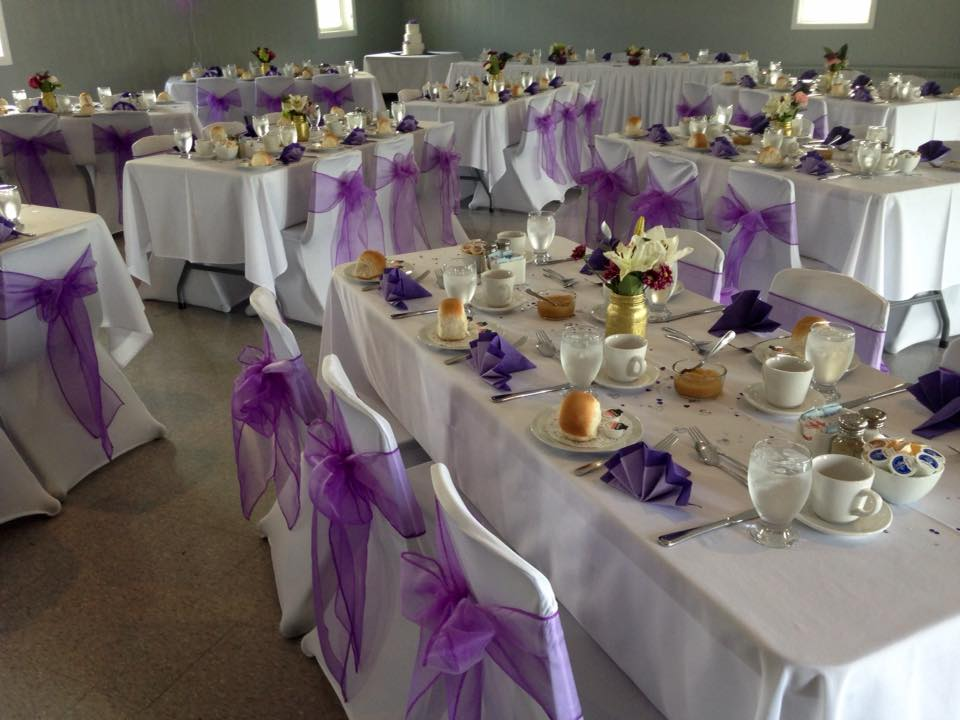 Lavender & Purple Wedding - North End Rec