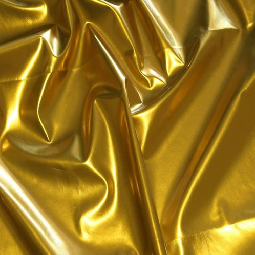 Chair Band ~ Metallic Gold Spandex