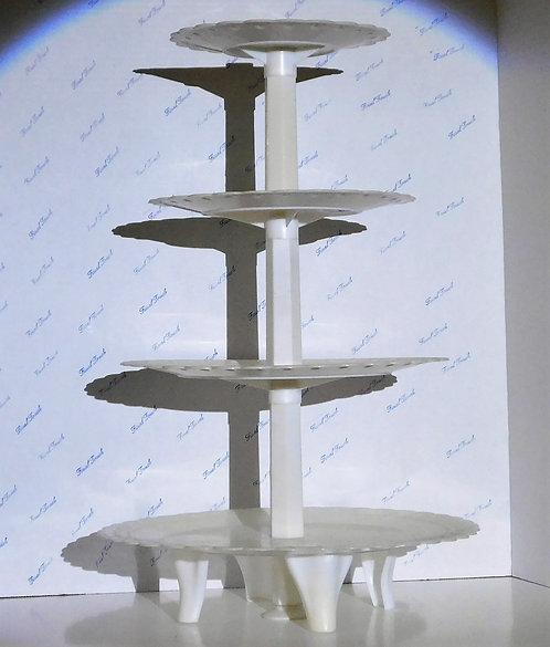 White Acrylic Cupcake Stand