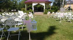 White & Pink Ceremony
