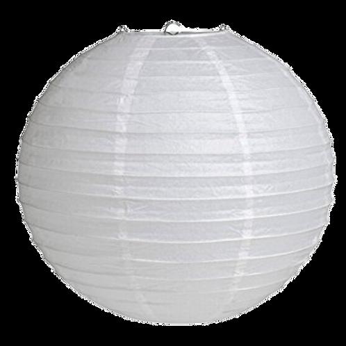 "16"" - Paper Chinese Lantern - White"