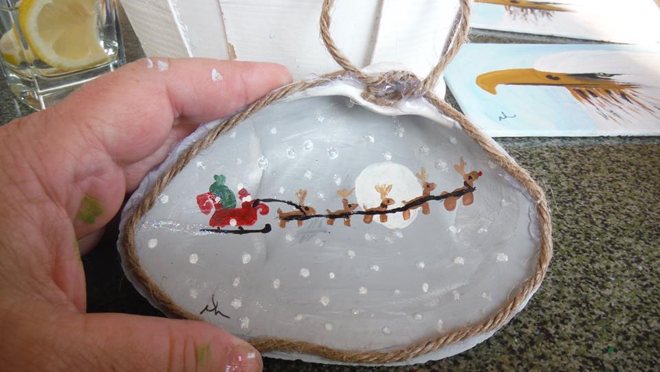 Christmas shell