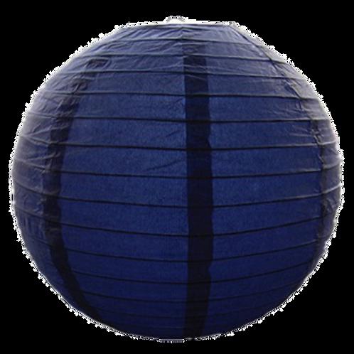 """8"""" - Paper Chinese Lantern - Navy"""