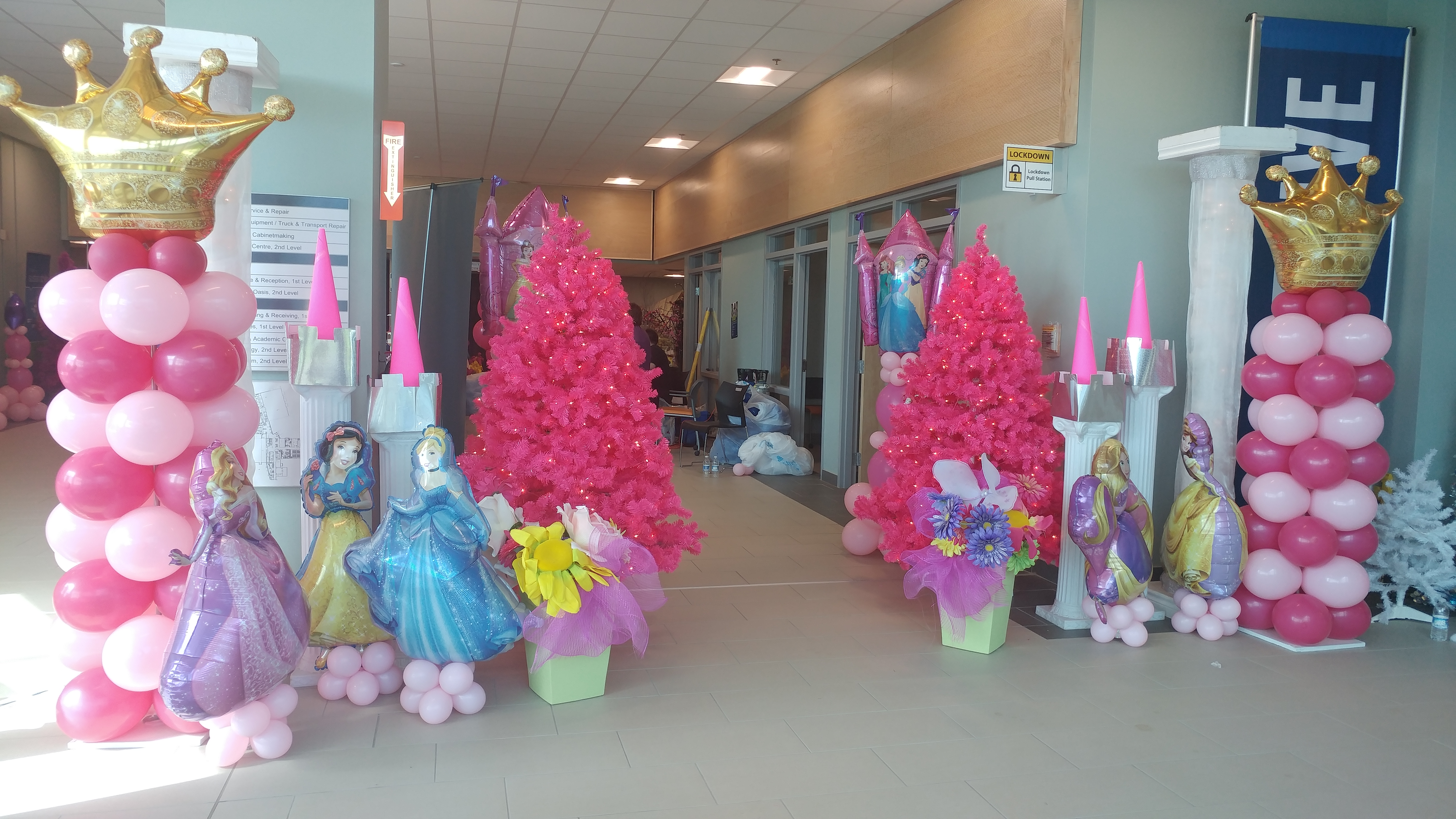 Children's Wish Hallway