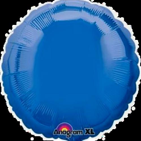 Dark Blue Round ~ 18 Inch