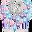 Thumbnail: Large Number Balloon Backdrop Heart - 8ft x 8ft