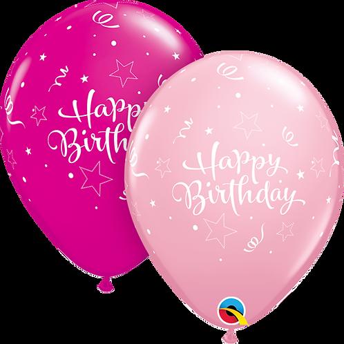 """Happy Birthday"" ~ 11 Inch"