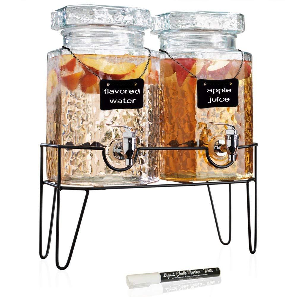juice dispenser double