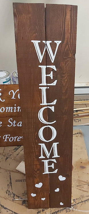 Large Wooden Plaque