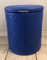 Small Blue Cooler