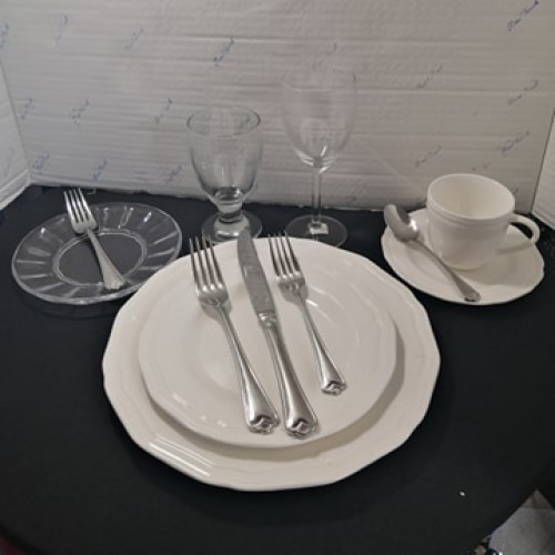 Full Formal Place Setting