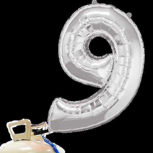 22 - 32 Inch Mylar Balloon Helium Fill