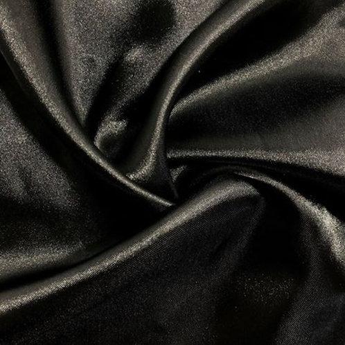 Chair Sash ~ Black Satin