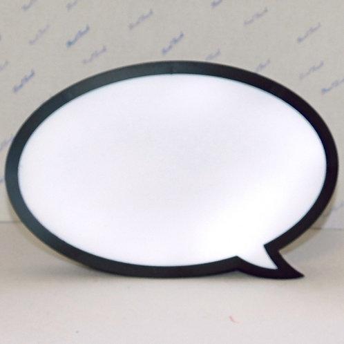 Speech Bubble ~ Blank
