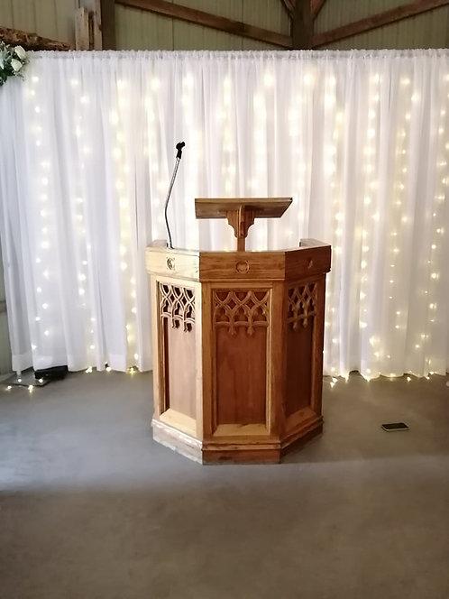 Church Style Podium