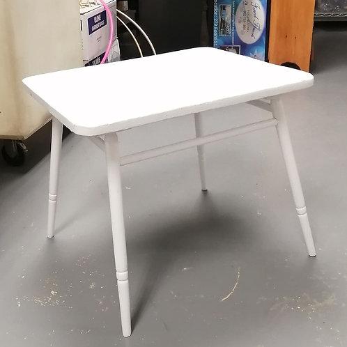 Square White Table