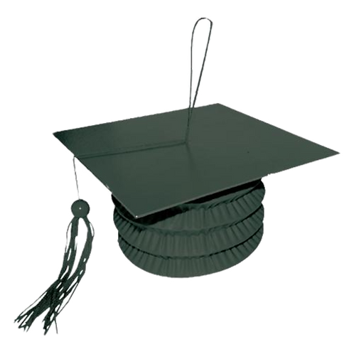 Black Graduation Cap Balloon Weight