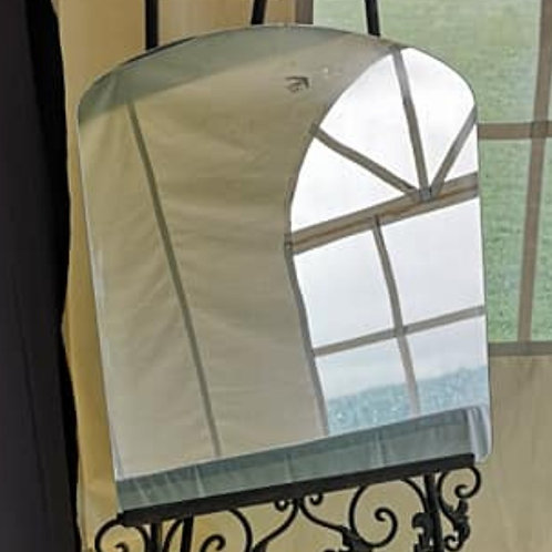 Large Rounded Mirror ~ Blank