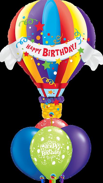 4x11in + 1xLarge Balloon Bouquet