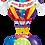 Thumbnail: 4x11in + 1xLarge Balloon Bouquet