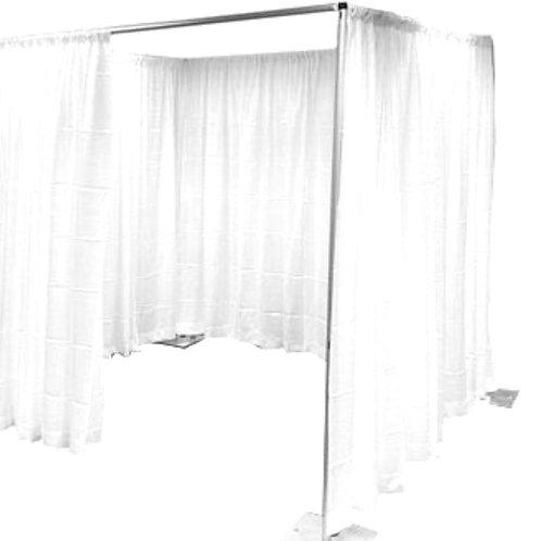 8-12ft Square Single Tier Backdrop