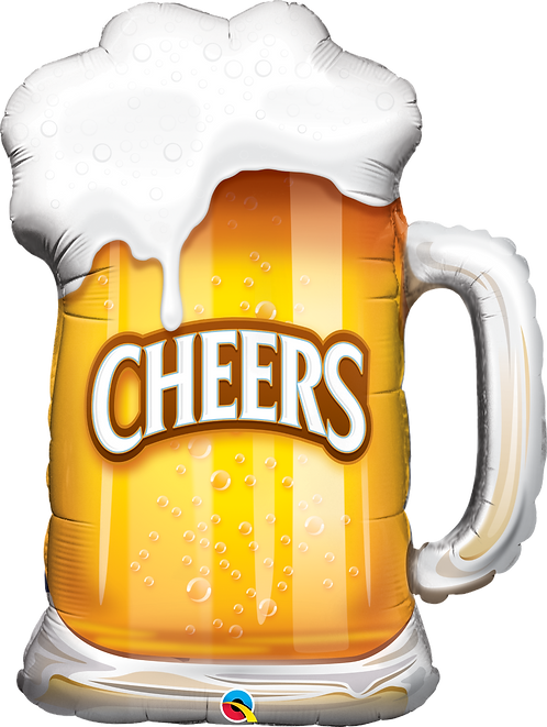 """Cheers"" Beer ~ 35 Inch"