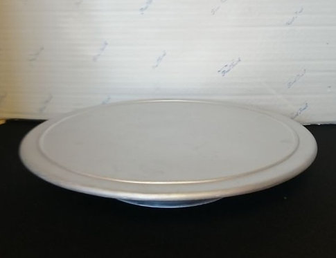 """10"""" Silver Spinning Cake Stand"""