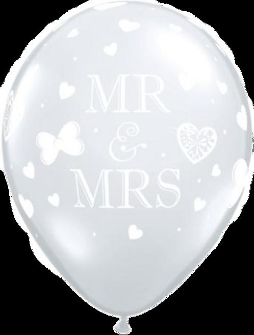 """""""Mr. & Mrs."""" ~ 11 Inch"""