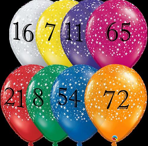 Customized Balloon ~ 11 Inch