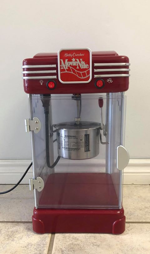 Table Popcorn Machine