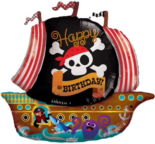 """""""HB"""" Pirate Ship ~ 36 & 46 Inch"""