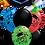 Thumbnail: 9x11in + 1xLarge Balloon Bouquet