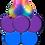 Thumbnail: Single 5ft Balloon Column + Large Mylar Topper