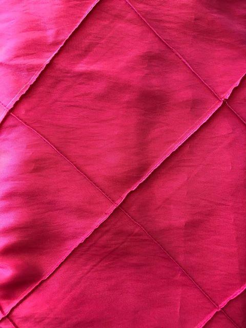 "*Sale Item* ~ Pink Pillowed 4"" Square"