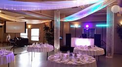 White Reception & DJ Table