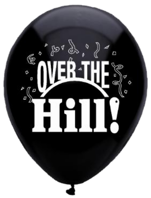 """""""Over The Hill!"""" ~ 12 Inch"""