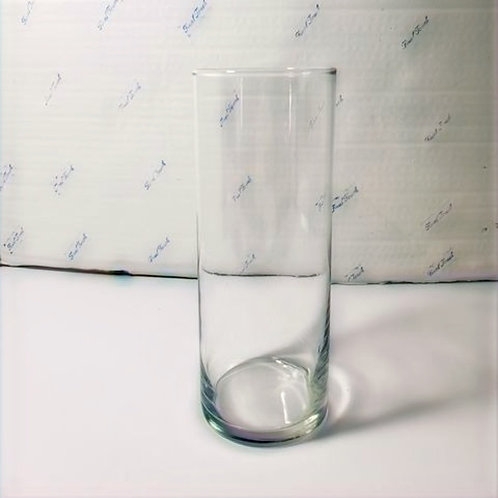 """Clear Cylinder ~ 9"""""""