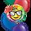 Thumbnail: 4x11in + 1x18in Balloon Bouquet