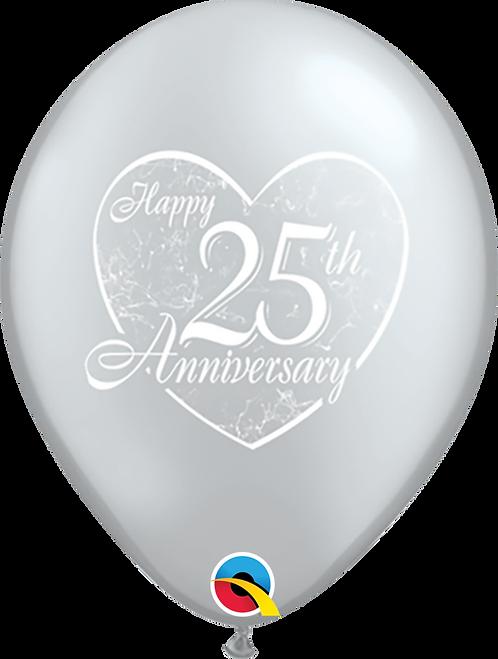 Happy 25th Anniversary ~ 11 Inch