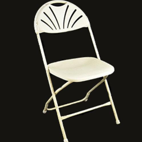 Ivory Folding Chair